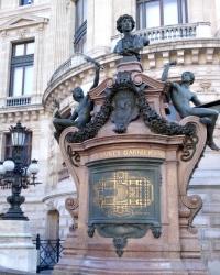 Пам'ятник Шарлю Гарньє у Парижі