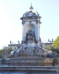 Фонтан Сен-Сюльпіс у Парижі