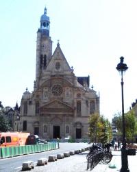 Церква Сент-Етьєн-дю-Мон в Парижі