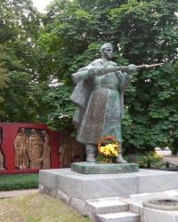Памятник воинам в г. Приморск
