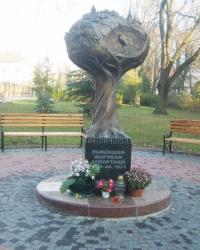 Пам'ятник депортованим українцям у Тернополі