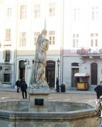 Фонтан «Адоніс» у Львові