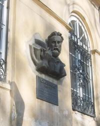 Меморіальна дошка Борису Грінченко у Львові