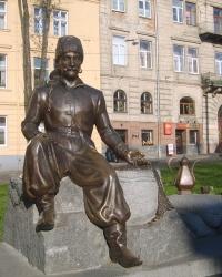 Пам'ятник Юрію Кульчицькому у Львові