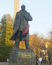Пам'ятник Степанові Бандері у Львові
