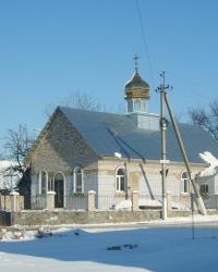 Храм Андрея Первозванного в Балабино у Запорожья