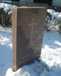 Памятник жертвам Голодомора в пос. Балабино Запорожского района