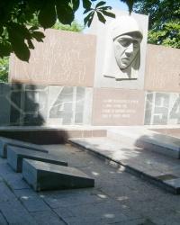 Памятник воинам в с. Каменное