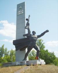 Памятник «Переправа» в Запорожье