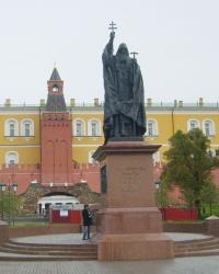 Памятник Патриарху Ермогену в Москве