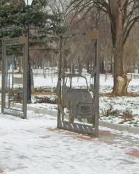 Арт-аллея кованых картин в Запорожье
