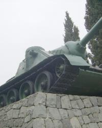 Памятник освободителям Алушты