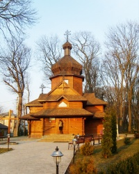 Церква Зарваницької Божої Матері у Тернополі