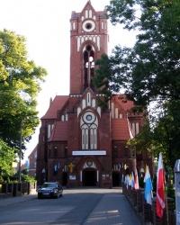 Церква Непорочного Серця Св. Богородиці в Грудзядзе, Польща