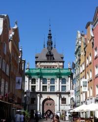 Золоті ворота в Ґданську