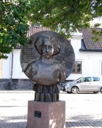 Пам'ятник Анні Ліндхаген у Стокгольмі