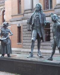 Памятник Людвігу Гольбергу в Осло