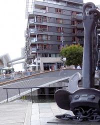 Якір крейсера Блюхер в Осло