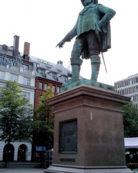 Пам'ятник Кристіану IV в Осло