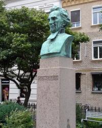 Пам'ятник Пітеру Візельгрену у Гетеборзі