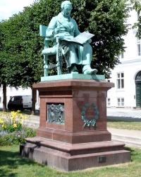 Пам'ятник Йогану Хартманну в Копенгагені