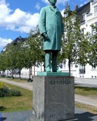 Пам'ятник Карлу Тітгену у Копенгагені
