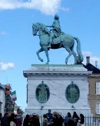 Копенгаген. Пам'ятник Фредеріку V