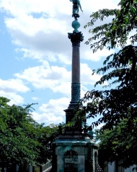 Копенгаген. Пам'ятник Івару Хайтфельдту