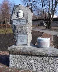 Пам'ятник меру Феліксу Мовчановському у Запоріжжі