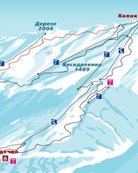Южные склоны горы Хопок