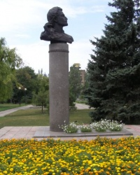 Бюст Архипа Ивановича Куинджи на родине в Мариуполе