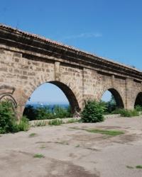 Аркада карантина с башней 1803—1807 гг.