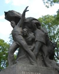 Памятник матросам-потемкинцам в Одессе