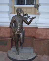 Памятник одесским сотрудникам угрозыска послевоенной поры