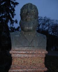 Бюст Христо Ботеву в Одессе