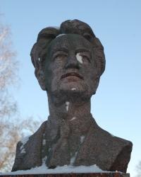 Памятник академику Борису Грекову в Миргороде