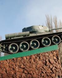 Памятник Танк Т-34 в Мариуполе