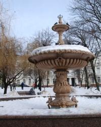 Старинные фонтаны Киева. Фонтан в сквере им.Чкалова