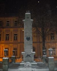 Памятник советским воинам освободившим Липтовский Микулаш