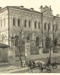 Здание бывшей хоральной синагоги в Мариуполе