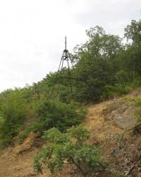 Триангуляционный пункт на горе Аю-Даг