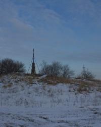 Самая высокая точка левого берега Днепра. Курган на восточной окраине Днепропетровска