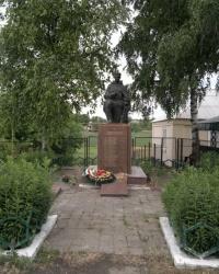 Братская могила в селе Бережинка