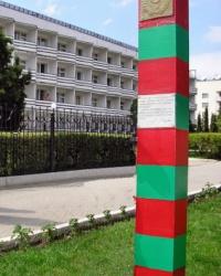 Памятник пограничникам в Коктебеле