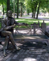 Памятник Григорию Артынову - первому винницкому архитектору