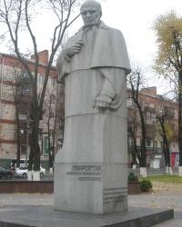 Памятнкник Н.И. Пирогову в г. Винница