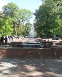 Каскадный фонтан на Старом бульваре