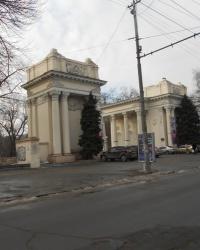 Старые ворота в парк Глобы (В. Чкалова)