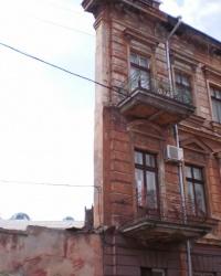 Дом стена в Одессе