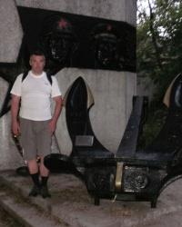 Памятный знак в честь 30-летия победы в ВОВ (якорь)